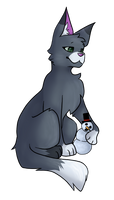 Xikinz chilling with a snowman by BlueJubbles