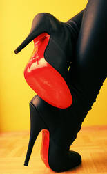 so leather, so red by chbu