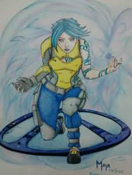 Maya the Siren by DracRaz