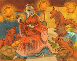 Lady Fox-Color Study by liliesformary