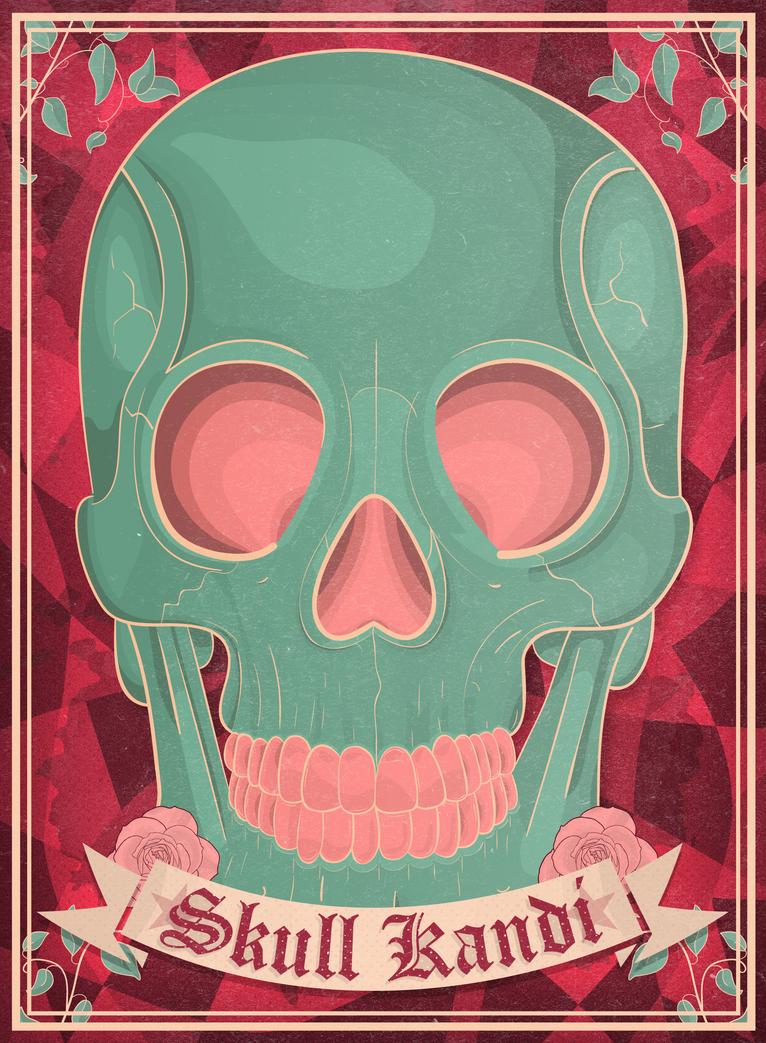 Skull Kandi by RicGrayDesign