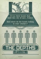 Metropolis Film Poster by RicGrayDesign