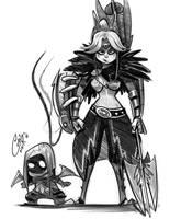 Monster Hunter HUNTER SKETCH by Curly-Artist