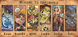 Welcome to Ramshackle by Curly-Artist