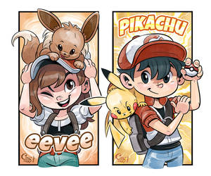 Pokemon Let's Go by Curly-Artist