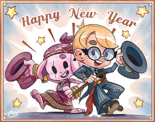 Happy New Year 2019 by Curly-Artist