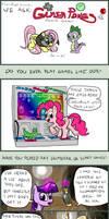 Ponies at Play by FlavinBagel
