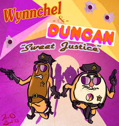 Wynnchel and Duncan by FlavinBagel
