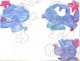 Sketch Pad Vanity Smurf 5 by RozStaw57