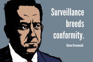 Glen Greenwald by DVLArt