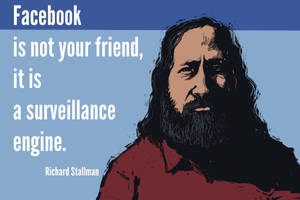 Richard Stallman by DVLArt