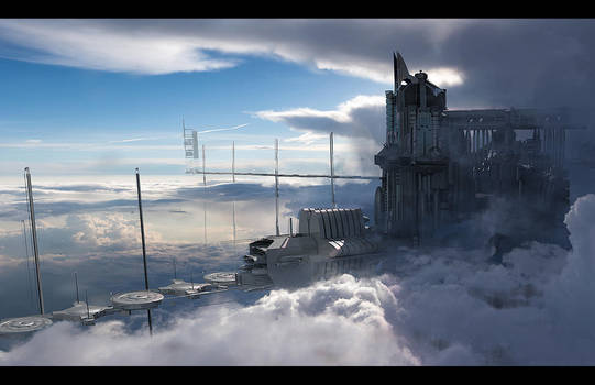 Ark Tower Take 2 by fmacmanus