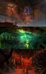 Underground City II by fmacmanus