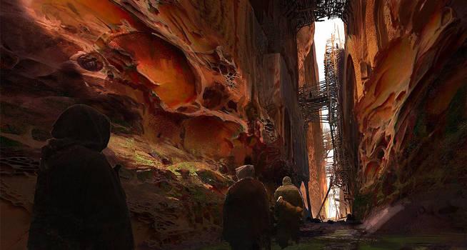 Traversing the Lost Corridor by fmacmanus