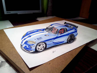 Dodge Viper GTS 3D by EvgenyS