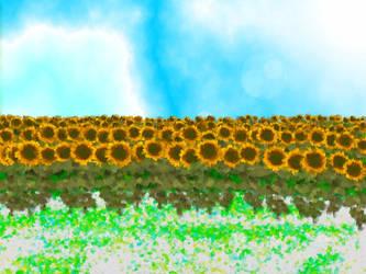 Sunflowers by Rammistein