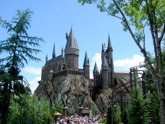 STOCK Hogwarts Castle by EscapeFromWonderland