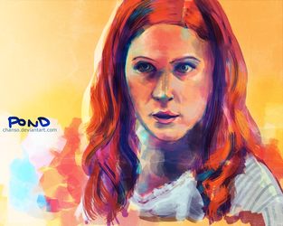 Amy Pond by chanso