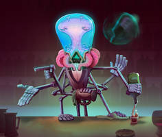Alien Concept by AdamTemple
