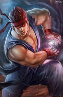 Evil Ryu by NOPEYS