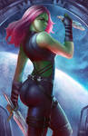 Gamora by NOPEYS