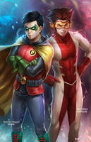 Robin and Impulse by NOPEYS