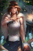 Princess Mononoke by NOPEYS