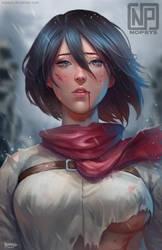 Mikasa by NOPEYS