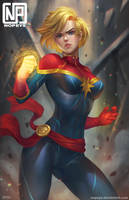 Captain MARVEL by NOPEYS