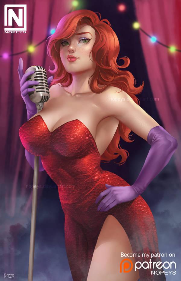Jessica Rabbit by NOPEYS