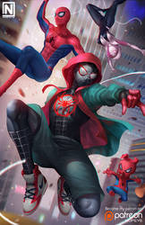 Into The Spider-Verse by NOPEYS
