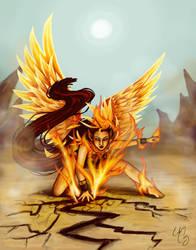 Phoenix by Eirescei