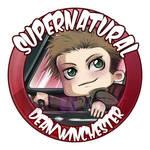 Dean Winchester badge by Saganu