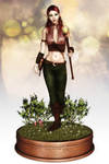 Shanyssa- Action Figure by DesignsByEve