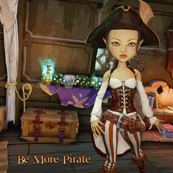 Be More Pirate by DesignsByEve