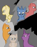 My Little Pony: Crack Glass base by kaciekk