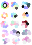 F2U Pastel Color Palettes #2 by Horror-Star