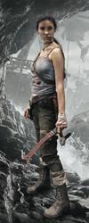 Photo Manipulation: Lara Croft Reborn by alineshenon