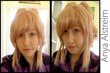 Progress: Anya Alstreim Wig by SayonaraSolitaire