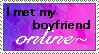 Online Boyfriend Stamp by FlashyFashionFraud