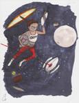 SPACE by FlashyFashionFraud
