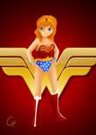 TMNT Super Hero Series-April by FlashyFashionFraud