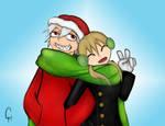 Soul Eater-Happy Holidays by FlashyFashionFraud