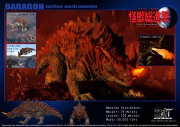 Baragon by LDN-RDNT