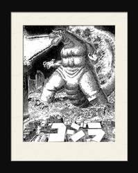 Godzilla - 1995 by LDN-RDNT