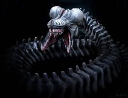 Snake Alien by LDN-RDNT