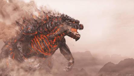 Godzilla Mars 2 by LDN-RDNT