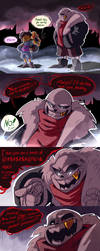 Underfell comic by Ketpet94