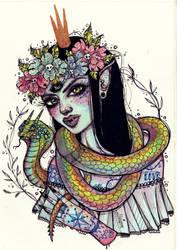 SnakeGirl by alexowo