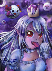 Boosette (Princess King Boo) by FaithWalkers